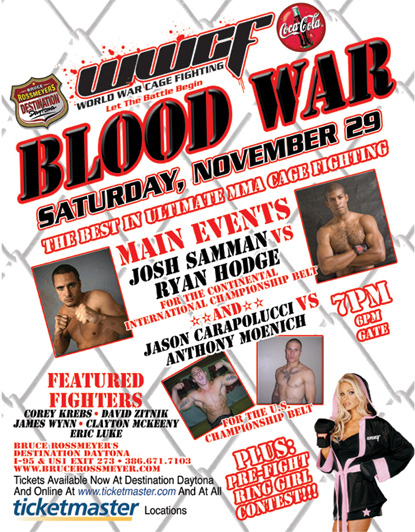 Blood War: November 29 in Daytona