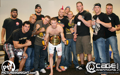 Cage Warriors champion Bruce Connors - Paragon MMA