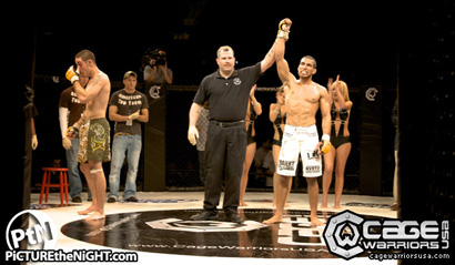 Cage Warriors Destruction: Jim Alers